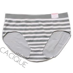 3/$50 NWT Cacique Smooth Hipster panty 14/16 1X